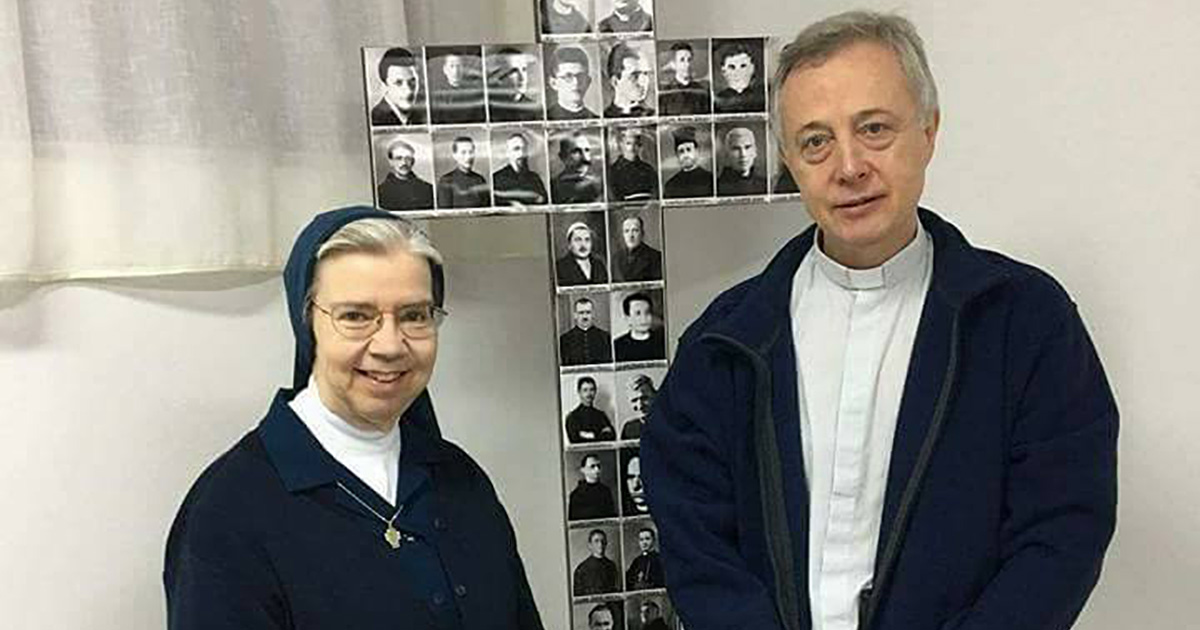 Fr. Tomaž Mavrič, C.M. and Sr. Kathleen Appler D.C. visited Kosovo and Albania